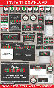 printable christmas party invitations printable christmas gift tags party invitations u0026 decorations