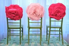 Diy Wedding Chair Covers Rose Chair Covers Diy Wedding Rose Chair Decoration