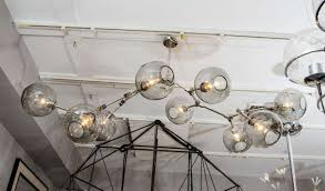 branch chandelier custom nine globe branch fixture for sale at 1stdibs