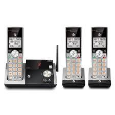 at u0026t three 3 handset cordless phone bundles at u0026t telephone store