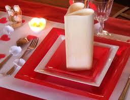 assiette jetable mariage assiette carrée plastique vaisselle jetable qualité française