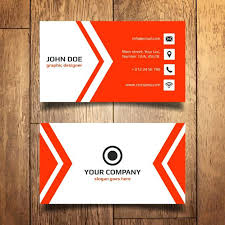 template business card cdr templates business cards free download red business card template