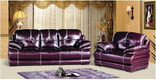 Colored Leather Sofas Agreeable Wine Colored Leather Sofa For Your Home Interior Design