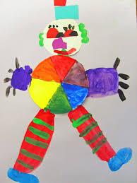 colorwheel clown art project deep space sparkle