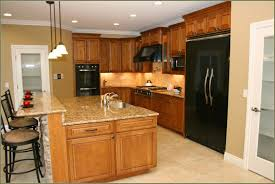 kitchen graceful natural cherry kitchen cabinets winsome with