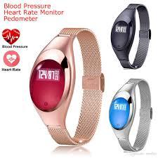 best luxury watch z18 bluetooth smart band blood pressure