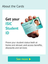 photo card isic a world of student benefits