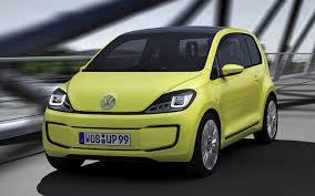 volkswagen up yellow volkswagen e up concept 2009 wallpapers and hd images car pixel