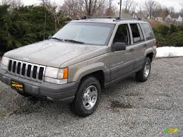 1996 light driftwood satin glow jeep grand cherokee laredo 4x4