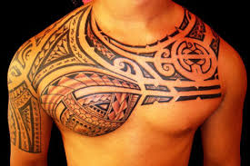 collection of 25 tribal and lettering tattoos for chest