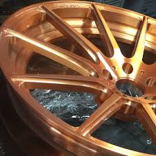 rose gold hummer hand brushed w translucent rose gold u0026 gloss clear
