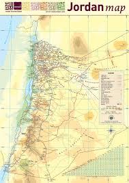Gulf Of Aqaba Map Jordanien Karte