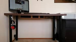 how to organize wires behind desk hacker challenge winner the pegboard cable organizer