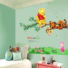 Pooh Nursery Decor Winnie The Pooh Nursery Ebay