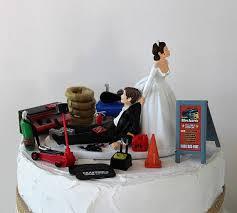 mechanic wedding cake topper humorous wedding cake topper mechanic grooms cake