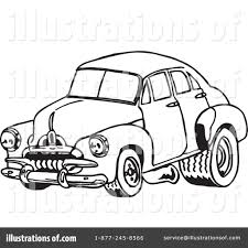 vintage cars clipart car clipart 1110568 illustration by dennis holmes designs