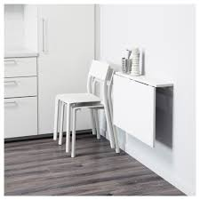 Table Pliante Formica by Norberg Wall Mounted Drop Leaf Table White 74x60 Cm Ikea