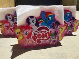 My Little Pony Party Centerpieces by My Little Pony Birthday Centerpiece Napkin Ring Holder Table
