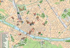 Italy Cities Map by Florence Map