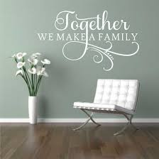 family wall decal etsy together make family decal vinyl wall lettering decals
