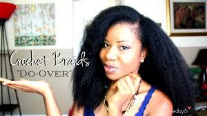 natural crochet hair crochet braids blending my natural hair teeday6 youtube