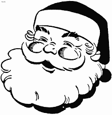 santa claus coloring pages ngbasic