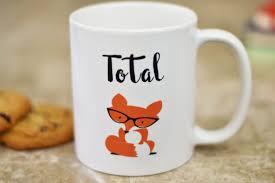fox mug total fox coffee mug fox gifts the love mugs