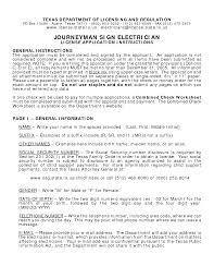 Electrician Resume Example by Resume For Journeyman Electrician Free Resume Example And