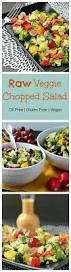 raw veggie chopped salad oil free veggie inspired