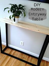 Modern Entry Table by Entryway Table Archives Mom In Music City