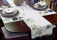 table setting runner and placemats over 100 free kitchen and dining sewing patterns at allcrafts net