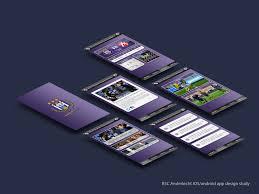 design application ios rsc anderlecht ios android app design study by luisfccorreia on