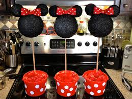 Centerpieces For Minnie Mouse Party by Minnie Mouse Centerpiece Topiary Red And White Birthday Party