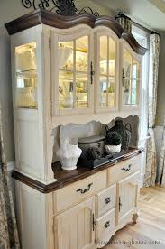 Best  Repurposed China Cabinet Ideas On Pinterest China - Kitchen cabinet with hutch
