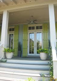 exterior fabulous front porch decoration using light blue front