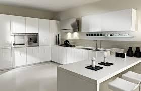 white modern kitchen interior design