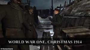 wwi video game verdun gives players chance to re enact christmas