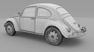 volkswagen beetle 1930 vw beetle 3d model in old cars 3dexport