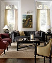 gray chesterfield sofa grey chesterfield sofa with an amazing painting print above it