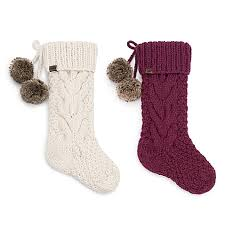 cable knit christmas ugg cable knit christmas décor collection bed bath beyond