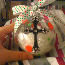 diy ornaments plain glass ornaments and snow from