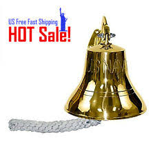 indoor wall mounted ls vintage brass ship bell antique large 3 5 inch wall mount outdoor