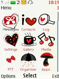 nokia 206 cute themes free nokia asha 206 i love u theme software download