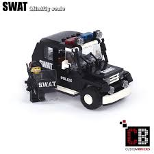 lego city jeep custombricks de custom modell moc city swat special order