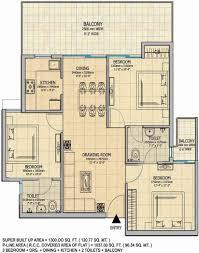 1300 sq ft floor plans gaursons 14th avenue floor plan 3bhk 3t sq ft apartment modern bhk
