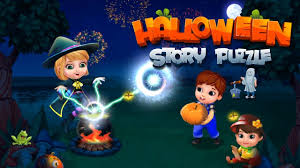 halloween puzzle games halloween story puzzle story puzzle games by gameiva youtube