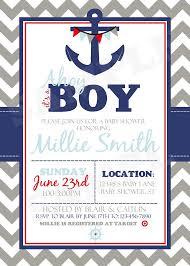nautical baby shower invitations free nautical baby shower party invitations templates invitations