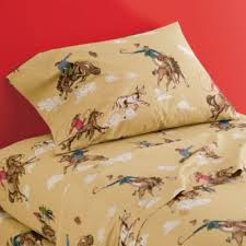 Girls Western Bedding by Percale Western Cowboy Bedding Kids Decorating Ideas