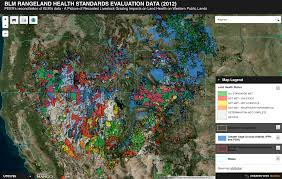 Blm Maps New Mexico by A New Map Shows Rangeland Health West Wide U2014 High Country News