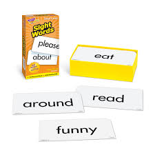words cards sight words review flash cards splash publications